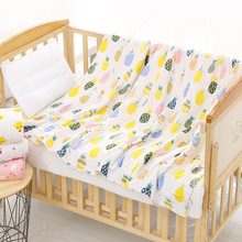 Baby Swaddle Blanket Unisex Swaddle Wrap Soft 100% Cotton Muslin Swaddle Blankets Neutral Receiving Blanket for Boys and Girls baby blankets newborn swaddle receiving blanket flower stripe print sleeping swaddle minky blanket wrap