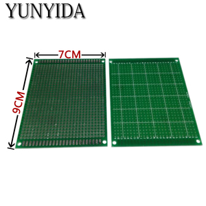 98-18 free shipping 2pcs 7x9cm single Side Prototype PCB Universal Printed Circuit Board