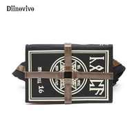 DIINOVIVO Anime Gothic Bag Magic Book Shape Crossbody Bag Unisex Punk Designer Chest Bag Retro Women Shoulder Bag Gifts WHDV0154
