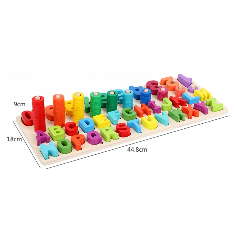 Wooden Digital Shape Numbers Letters Montessori Materials Learning To Count  Education Matching Match Early Teaching Math ToysWooden Digital Shape Numbers Letters Montessori Materials Learning To Count  Education Matching Match Early Teaching Math Toys