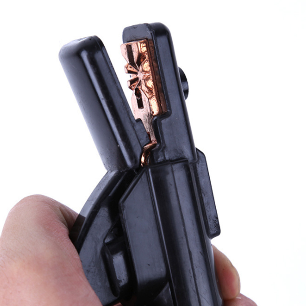 Полезный 300A держатель электрода палка сварочный стержень медный мини кабель сварочные зажимы Stinger зажим инструмент термостойкий