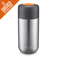 Wacaco Nanovessel,3 in 1 Vacuum Insulated Flask Tumbler,Tea Infuser and Water Tank.Thermos Cup Accessory for Nanopresso Machine.