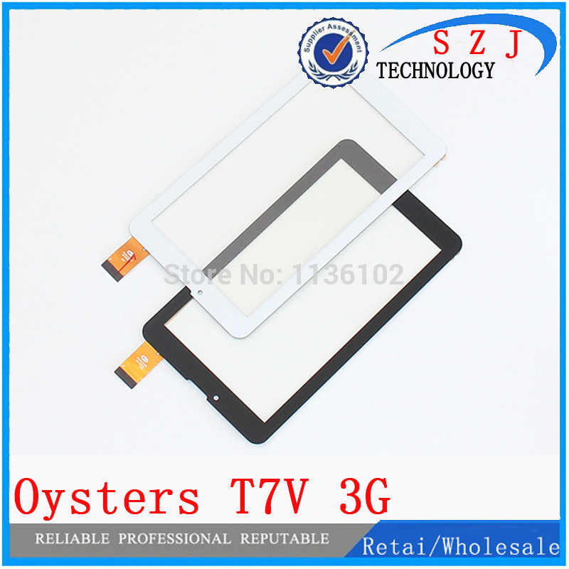 NEW 7 inch Case Touch screen Digitizer Oysters T7V 3G Tablet Outer Touch panel Glass Sensor replacement Free Shipping 10Pcs/lot fghgf film 7 oysters t72hm 3g t72v t72hri tablet touch screen panel digitizer glass sensor free shipping