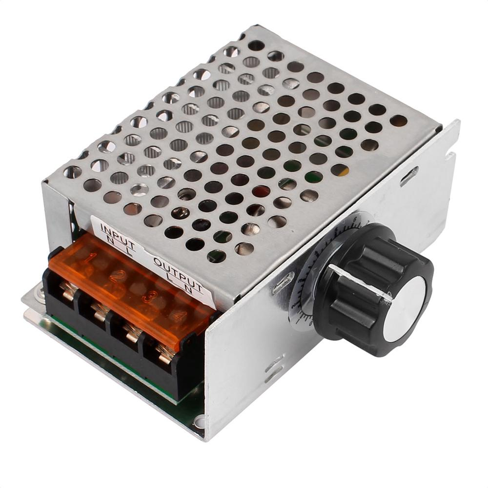 Electric Unit 220v 1000w Ac Scr Voltage Regulator Dimmer