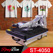 Sublimation Vacuum Heat Press Machine Hydraulic Sublimation Heat Press T-shirt Transfer Press Machine Rock Glass Case ST-4050A