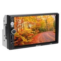 2016 Universale 7 Inch 2 Din Car DVD Bluetooth Full HD Autoradio Support MP5 FM USB