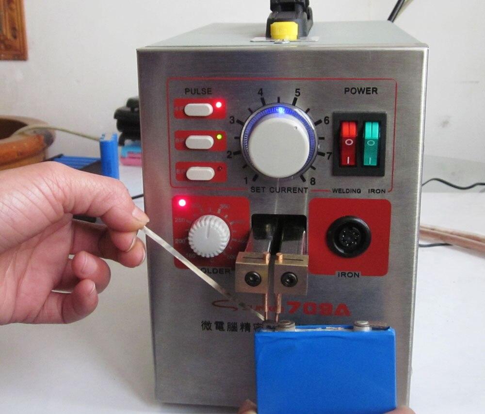 Soudeuse de point de puissance élevée de 1.5KW et Station de soudure avec le stylo universel de soudure + feuille de Nickel de 3mm 1 KG