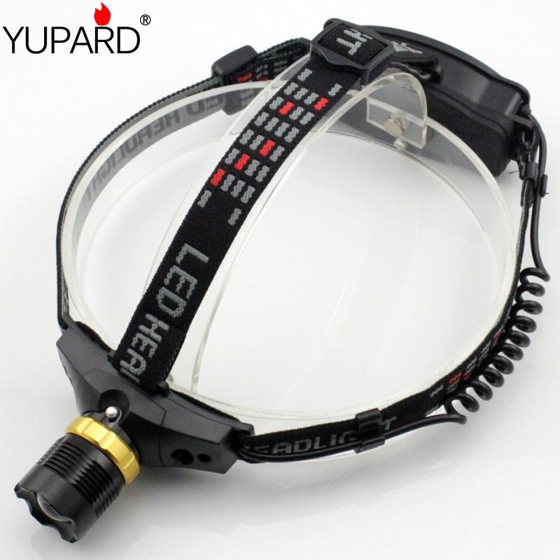 YUPARD rechargeable 18650/AAA Headlamp 5W 500 Lumens CREE Q5 LED 3 Mode Waterproof Zoomable Headlight Hiking Camping - NingBo Yupard Outdoor Co.,Ltd store