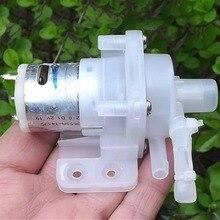 1 шт. мини водяной самовсасывающий зубчатый насос DC12V 1-2L/M насосный двигатель высокого давления