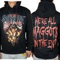 Free shipping  SLIPKNOT hoodie  Heavy Metal Hard Rock Music Punk Tour Concert size s-xxl