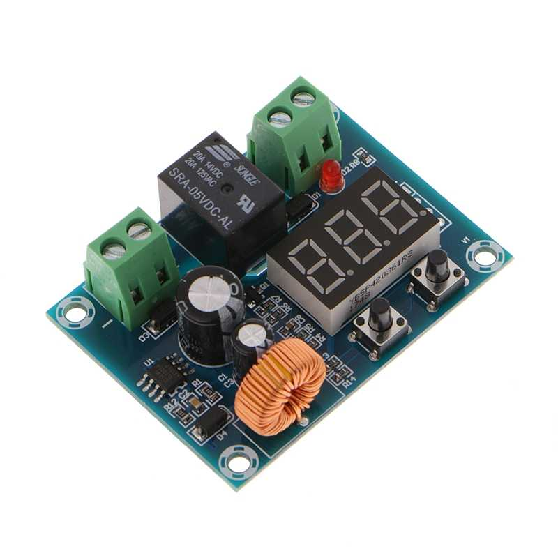 XH-M609 12-36V Battery Low Voltage Disconnect Protection Module DC Output