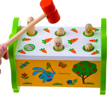 New wooden toy Infant beat  toys Baby Free shipping