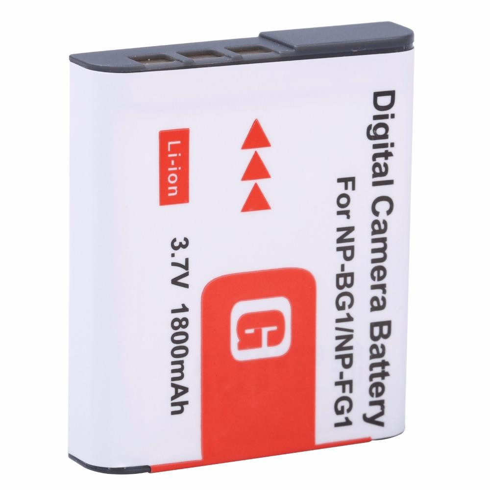 PROBTY 1pcs 1800mAh NP-BG1 NP BG1 NPBG1 Battery for SONY Cyber-shot DSC-H3 DSC-H7 DSC-H9 DSC-H10 DSC-H20 DSC-H50 DSC-H55 DSC-H70