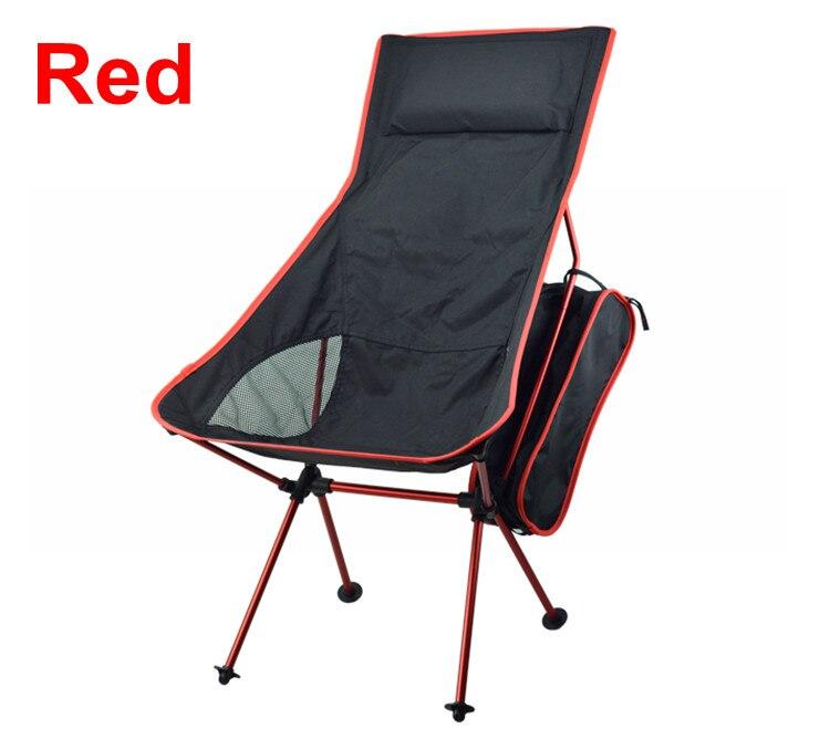 Портативный Сверхлегкий складной Луна для отдыха Кемпинг стул с мешком для Открытый Пеший Туризм путешествия Пикник барбекю пляжа Рыбалка