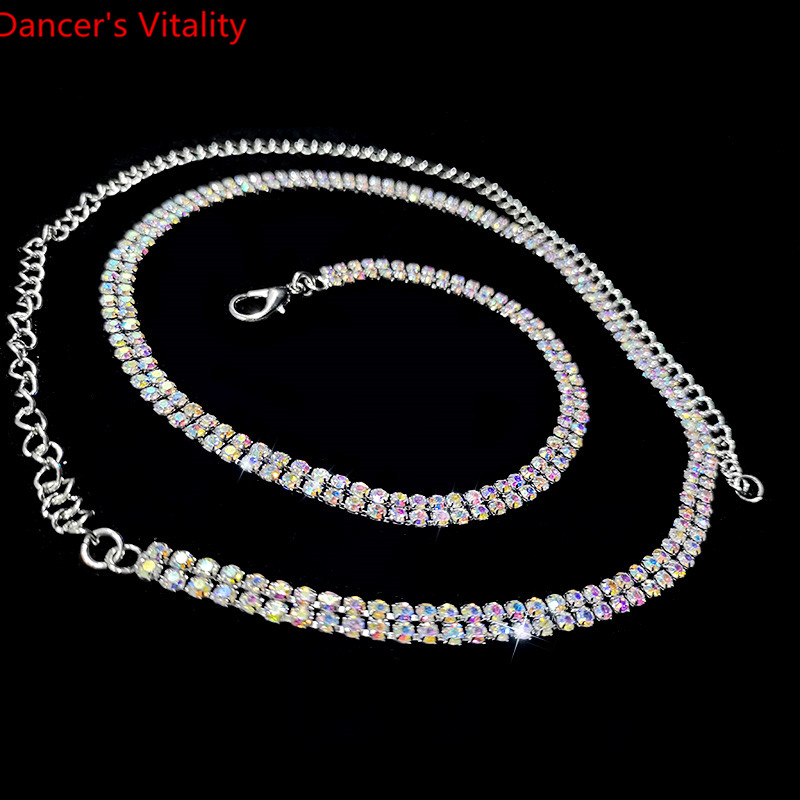 For Women Belly Dance Accessories Alloy + Diamond Waist Belts For Belly Dancing Chain Jewelry Skin Care Products Chain