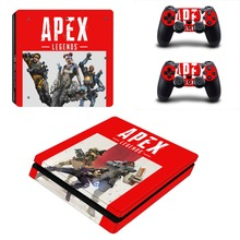 APEX Legends PS4 Slim Skin Sticker Decal for PlayStation 4 Console and Controller PS4 Slim Stickers Vinyl