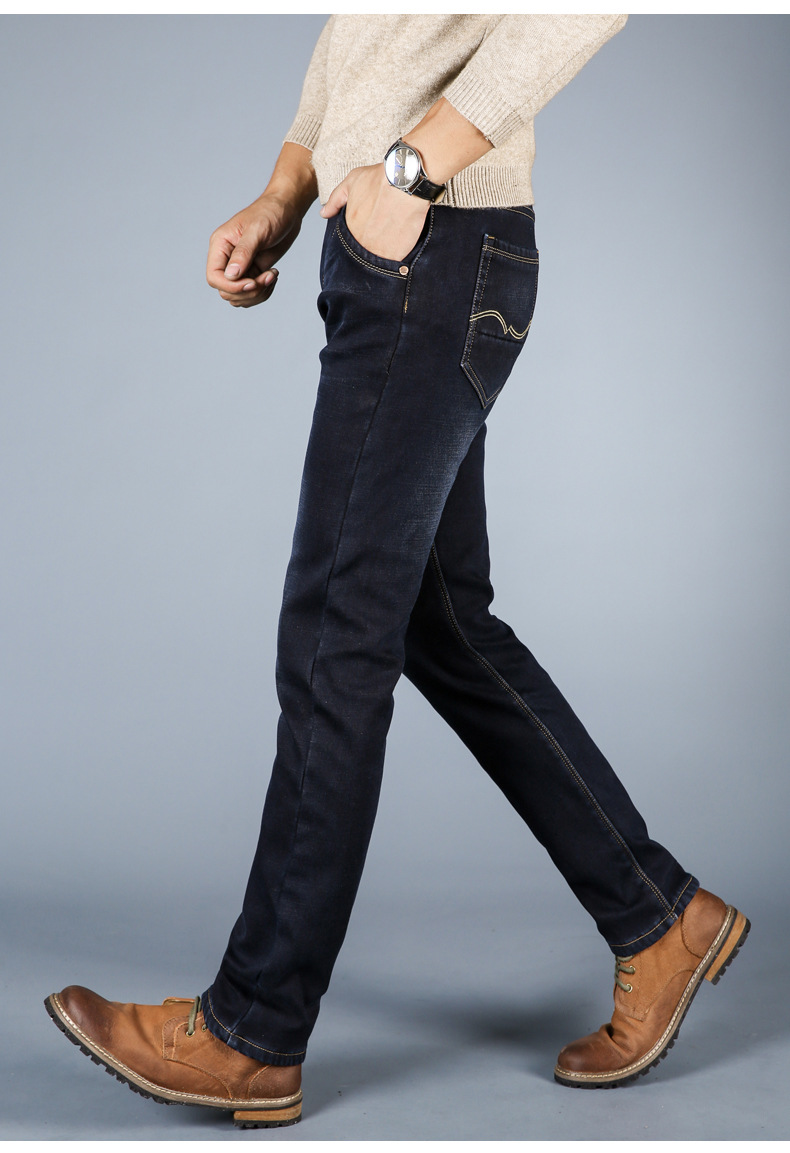 Warm Soft Jeans for Men 4
