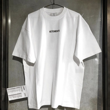 19SS Vetements EU size T Shirt Loose Fit Style 1:1 Vetements Top Tees Streetwear Hip Hop Fog Vetemen