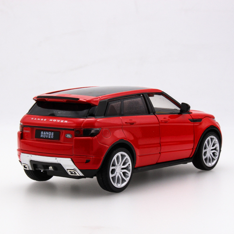 2017 Hot sell 1:32 Rover SUV Jeep Diecast Alloy Metal Luxury Car Model Collection Model Pull Back Toys Car Gift For Boy