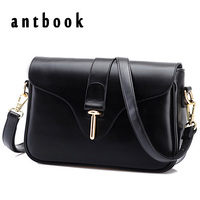 2015 New Brand Designer Women Small Messenger Bag PU Leather Solid Color Shoulder Bag Fashion Vintage