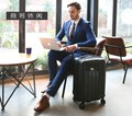 """20""""inch men cabin suitcase spinner business travel trolley case carry on luggage"""