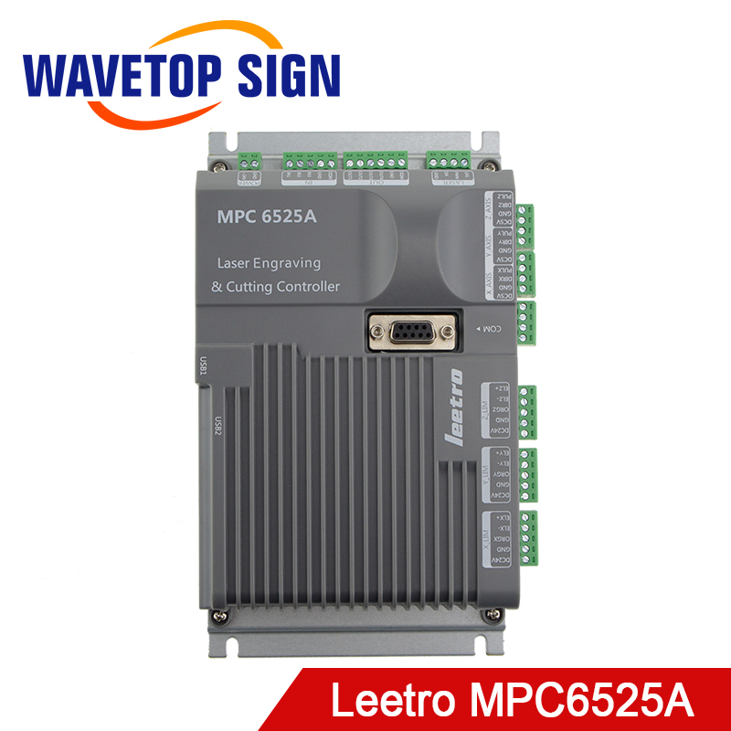WaveTopSign Leetro MPC 6525A Co2 Laser Control Board Mainboard Laser Engraving and Cutting Controller leetro mpc6515 laser controller board for sale mpc6515c controller system