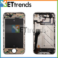 For iPhone 4 CDMA Back Cover Housing with Electroplated Middle Frame Midframe Plate Bezel Chassis Full Assembly Black White