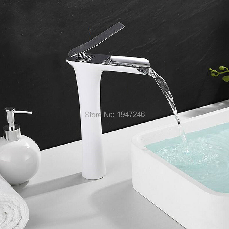 Factory Direct Lovely Hot Sale Contemporary Unique Shape Luxury Single Handle Waterfall Faucet Lavatory Wash Basin Mixer Tap 2017 unique shape luxury lavatory wash basin mixer tap waterfall bathroom sink faucet contemporary design brass finish in chrome
