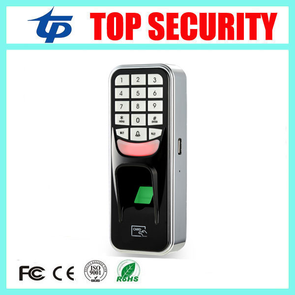 Good quality USB communication biometric fingerprint access control with RFID card reader standalone door access controller F801 good quality high speed zk f19 biometric fingerprint access control system standalone fingerprint door access controller reader
