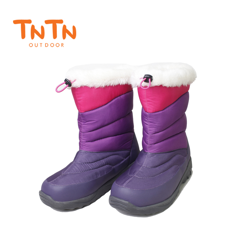 Womens Ladies Ducks Down Warm 3M Thinsulate Winter Boots Waterproof Shoes Snow Wools Skiing Gir