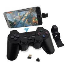 Wireless Game Controller Gamepad For PC /Android Phone/PS3/TV Joystick 2.4G Joypad Game Controller PC For Xiaomi OTG Smart Phone