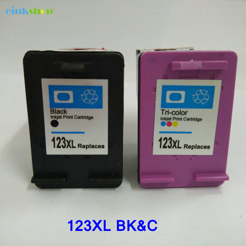 Remanufactured Ink cartridge 123 123xl For HP Deskjet 2130 2132 3630 3632 1110 1111 1112 Printer 123 ink cartridges