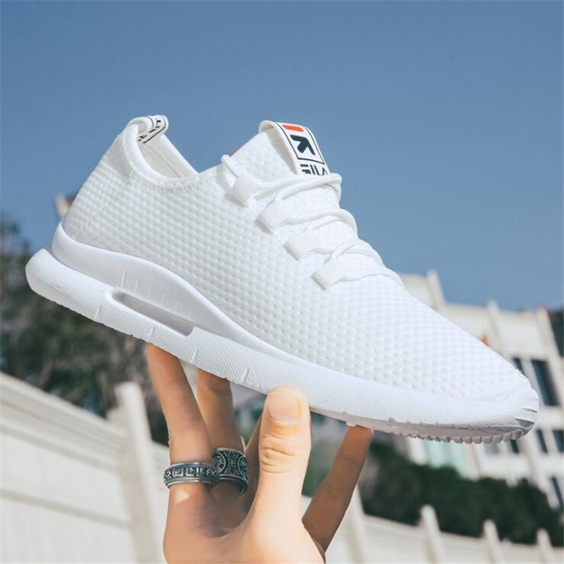 2019 Male Breathable Comfortable Casual Shoes Fashion Men Canvas Shoes Lace Up Wear-resistant Men Sneakers Zapatillas Deportiva