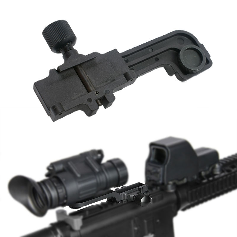 Tactical Polymer 20mm Picatinny Rail NVG Mount Fit Pvs 14 Pulsar GS 1X20 Night Vision Rifle Scope Sighting Scope For Hunting