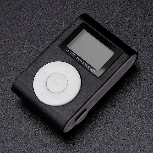 Горячая Распродажа мини-usb-зажим MP3-плеер ЖК-экран Спортивный MP3 музыкальный плеер Поддержка 32 ГБ Micro SD TF карта как кард-ридер # или
