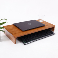 Computer Monitor Stand, Desktop ,Laptop Stand Riser with Keyboard   Storage   Space for   Home   &   Office