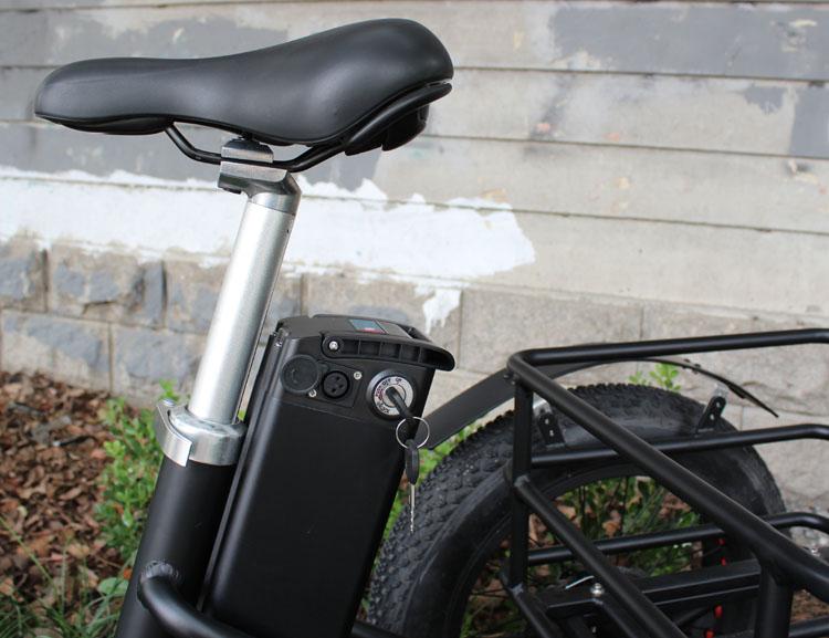 HTB1W6zWXo rK1Rjy0Fcq6zEvVXaT - 48V 1000W electric three-wheeled snowmobile Electric three-wheeled bicycle fat ebike 20-24inch wheel electric