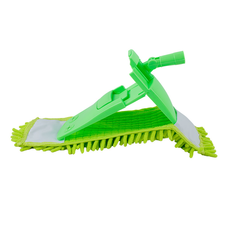 Congis 1pc 4 Colors Telescopic Rotate Removable Dust Mop Home