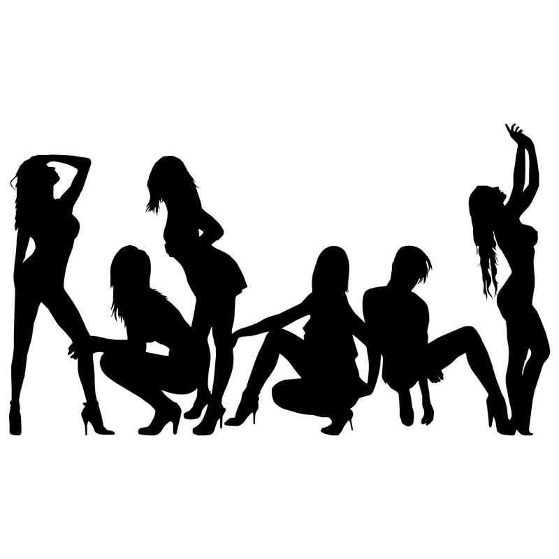 Online Get Cheap Car Stickers Girls Aliexpresscom Alibaba Group - Car sticker decal for girls