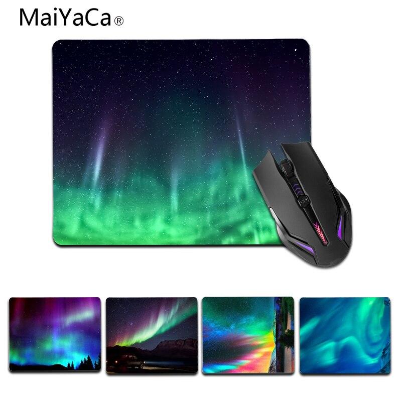 Maiyaca новых печатных Polar Light Shadow Высокое Скорость новый коврик Размеры для 180x220x2 мм и 250x290x2 мм небольшой коврик