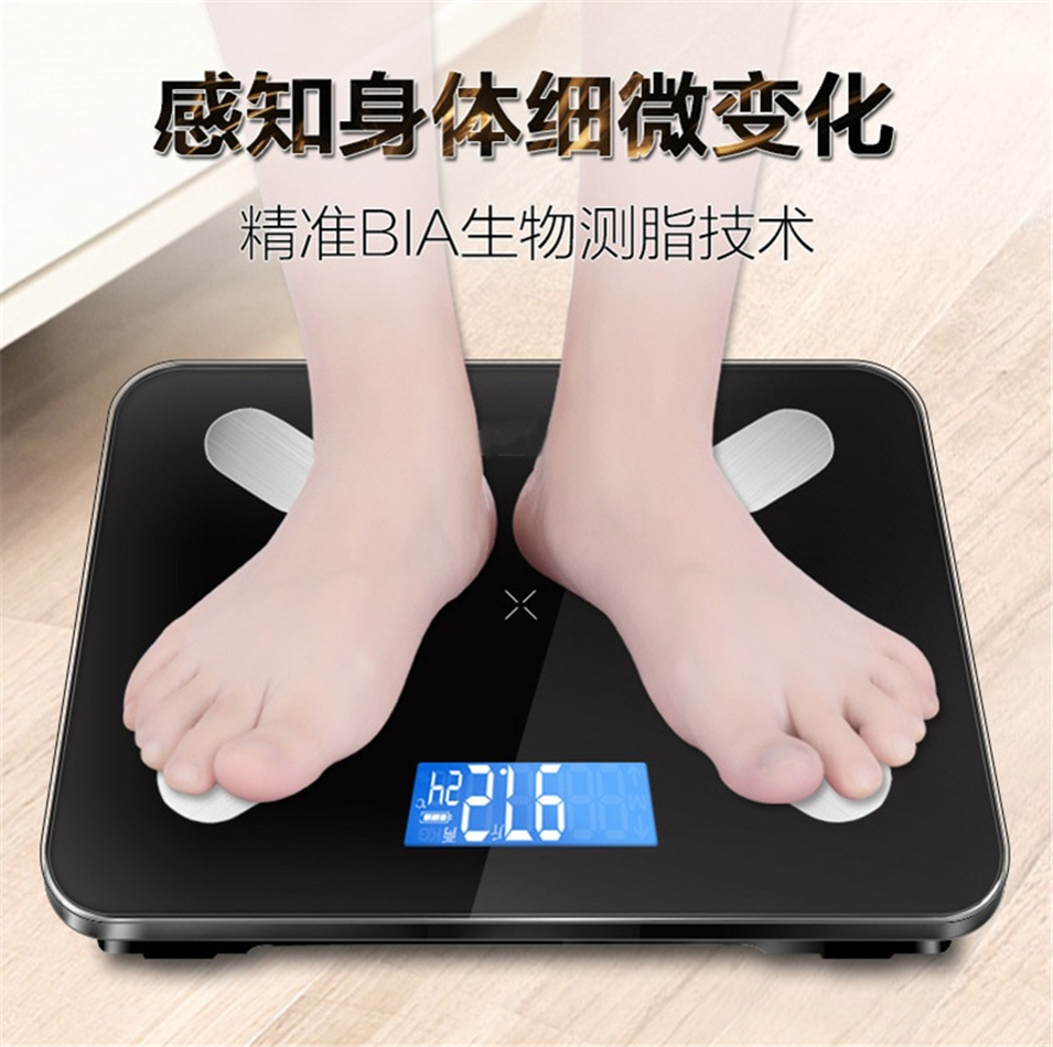 Hot Sale Bathroom scale Smart Scales Household Premium Support Bluetooth APP Fat Percentage Digital Body Fat Weighing Scale