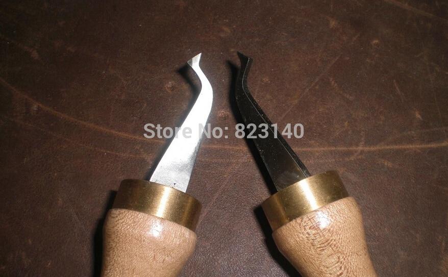 2 대의 PC 바이올린 루티에 도구 바이올린 인레이 나이프