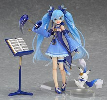 Figma #EX-37 VOCALOID snow Miku Hatsune movable toys PVC Action Figure Collection Model Toy