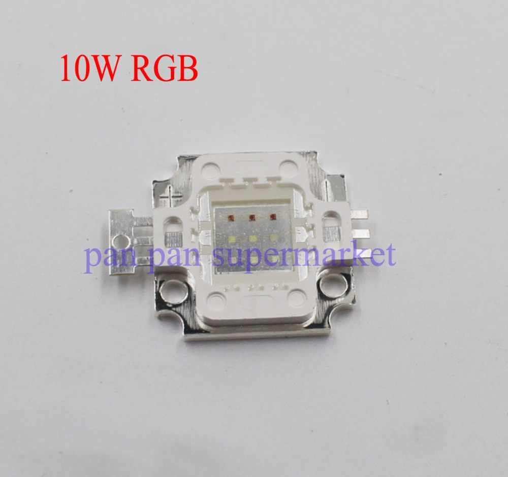 Lámpara LED de alta potencia bombillas RGB/RGBW Chip 3W 10W 20W 30W 50W 100 W rojo verde azul blanco diodo 3 10 20 30 50 100 W COB