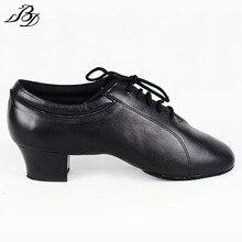BD Men Latin Dance Shoes 419 Split Outsole Dancing Shoe Dancesport Dance Shoe Samba Chacha Rumba Jive Paso doble