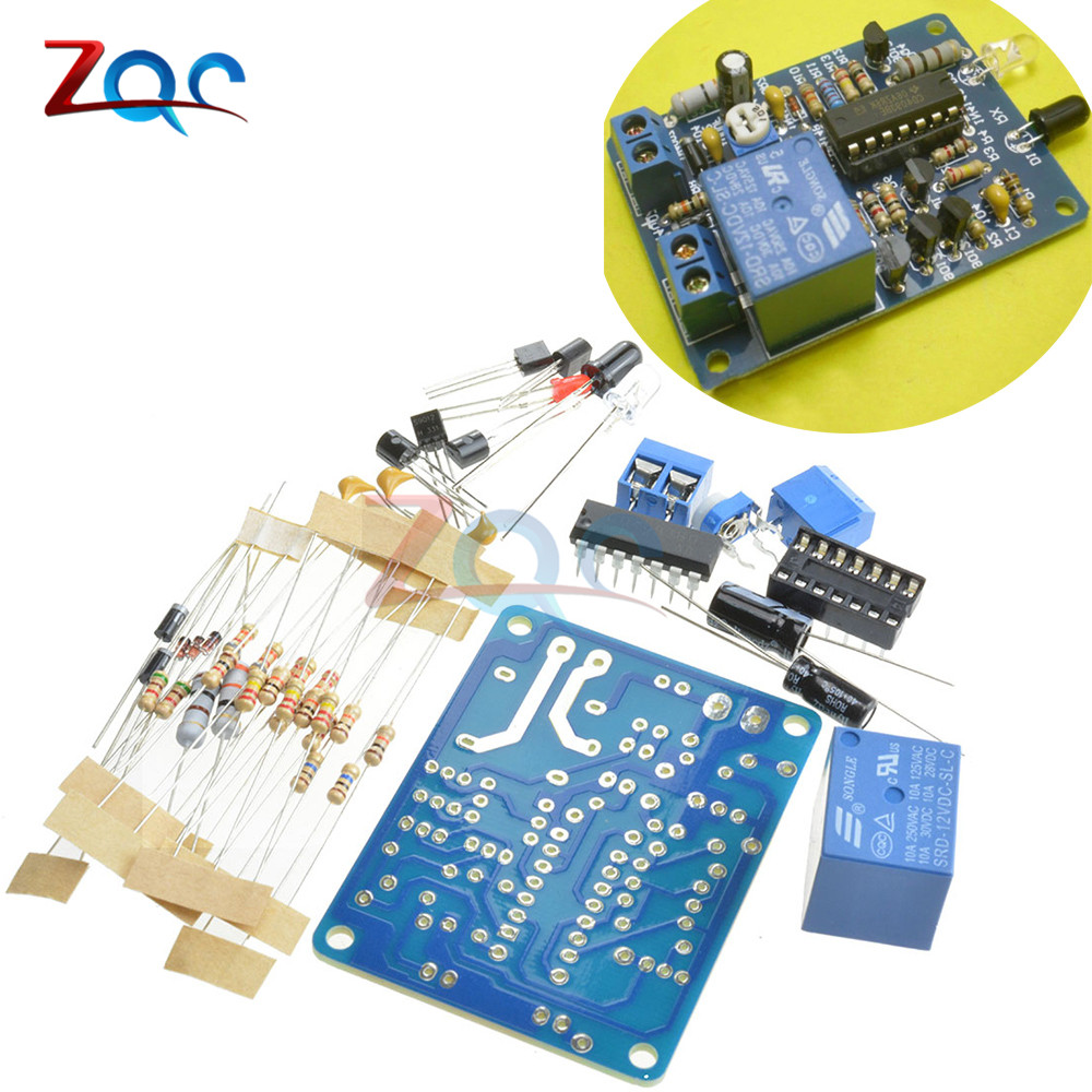 Electronic Dice Ne555 Cd4017 Diy Kit 5mm Red Leds 45 5v Icsk057a Circuit Using Ic Adjustable Infrared Proximity Diode Control Switch Automatic Faucet Module Breadboard 10a