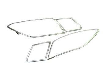 Auto Zubehör Chrom Rücklicht Abdeckung für Mercedes Benz W207 E Klasse Coupe/Cabrio-Freies Verschiffen