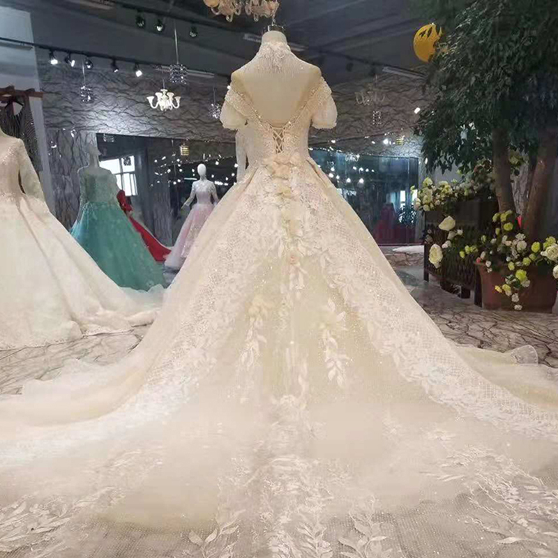 859d0639d3bbf LS74232 vestido de noiva ivory and champagne off shoulder sweetheart ball  gown lace up wedding dresses from china real photosUSD 523.99-611.19 piece