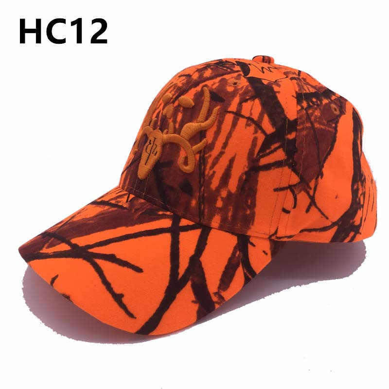8d64f05ca New Arrival Hunter Orange Camouflage Hat hunting cap Headwear ...