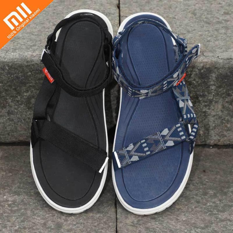 Original XiaoMi Freetie Arc buckle male sandals comfortable soft foot bed Non-slip shoes water Beach Sandalias for spring summer(China)